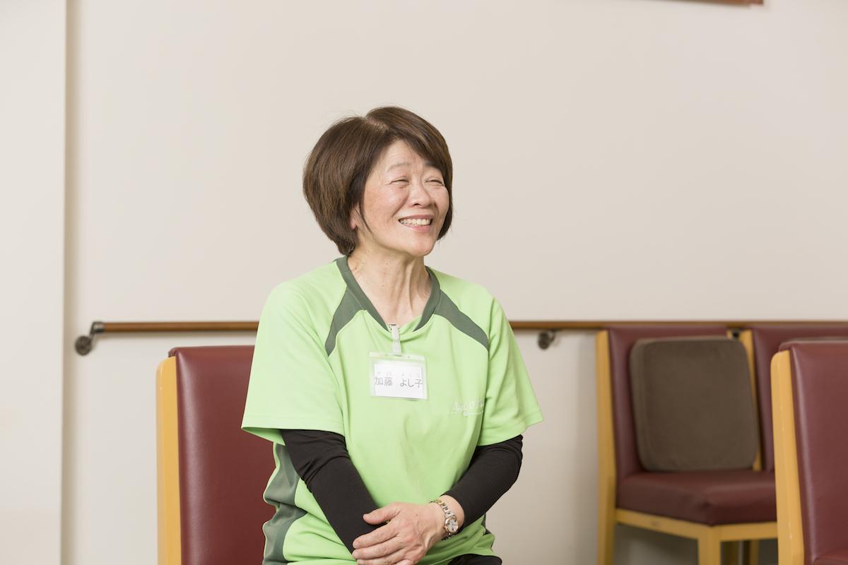 加藤よし子さん(看護師)