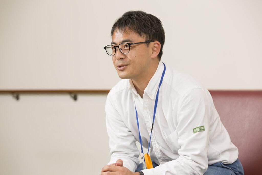 塩澤さん(施設長)