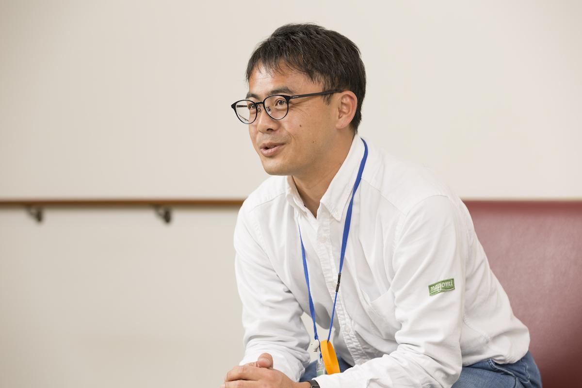 塩澤朋紘さん(施設長)